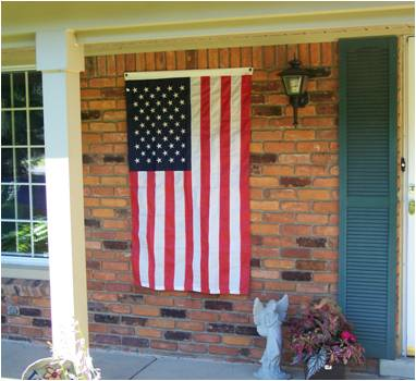 Usa flag etiquette for Proper us flag display