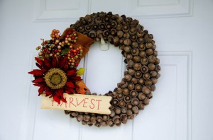 harvest wreath
