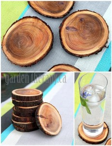 wood coasters