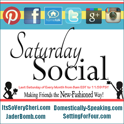 Domestically Speaking: Facebook Saturday Social
